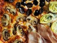 Quattro Stagioni *każdy składnik na ¼ pizzy