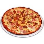 Pizza Bănățeană cu mici