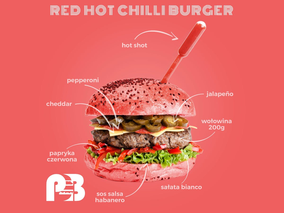 RED HOT CHILLI BURGER