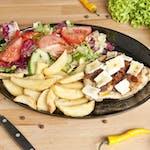 Filet z Kurczaka grillowany 160g z suszonymi pomidorami i serem camembert