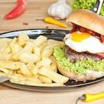 Zestaw Chorizo Egg Burger