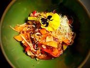 Makaron udon z warzywami