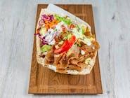Kebab w chlebie tureckim standard