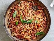 Wegańskie Spaghetti alla bolognese