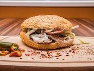 Kebab w Bułce Standard Mały - Wołowina