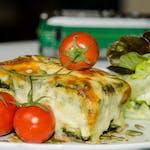 Lasagne zielona