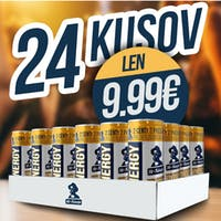 24x plechovka energy drinku iba za 9.99 €