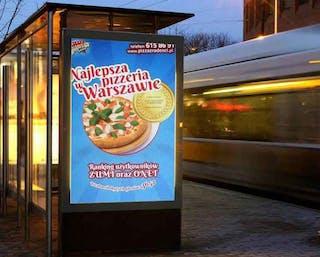 Najlepsza Pizza w Warszawie 3652 głosy w konkursie parę lat temu.