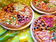 Pizza średnia , 3 składniki, 25cm