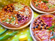 Pizza Mega 35cm , kompozycja 5 składników