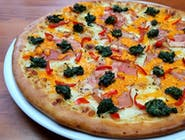 Pizza  Trzy Kolory TYLKO 30CM, TYLKO CIENKIE CIASTO