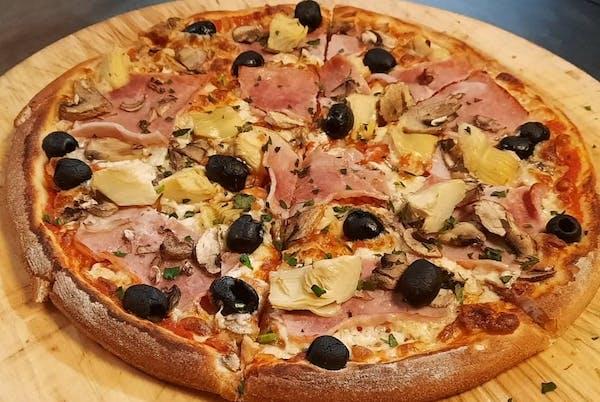17. Pizza Capricciosa