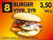 Syrový burger