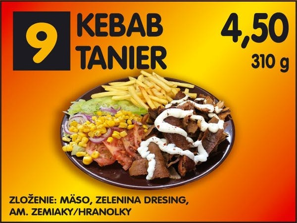 Kebab tanier