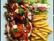 Talerz Kebab - M