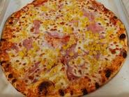Menu 8: Šunková pizza s kukuricou