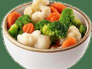 Warzywa gotowane na parze