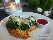 Filet zapiekany z brokułami