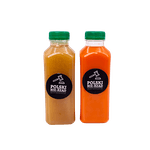 Świeżo wyciskany sok marchewka - jabłko 330 ml