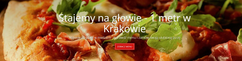 pizza krakow- zamow online