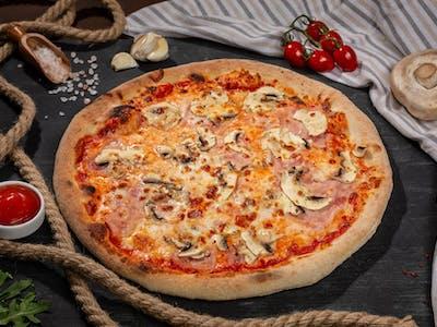 Pizza Prosciutto e Funghi M