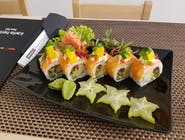 Sweet & Spicy Salmon Roll