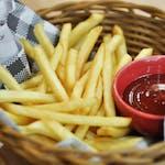 Frytki, ketchup