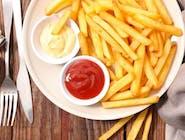 Frytki z ketchupem