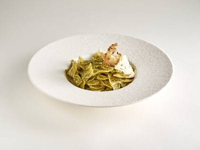 Farfalle spinaci e gorgonzola