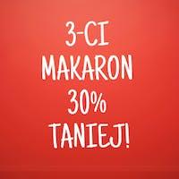 TRZECI  MAKARON 30% TANIEJ
