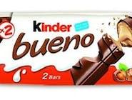 Ferrero Kinder Bueno, wafelki z kremem mlecznym, polane czekoladą, batoniki po 21,5g, 43 GR/PA Numer artykułu 11227540