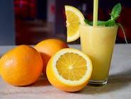 Sok świeżo wyciskany- pomarańcza-grejfrut