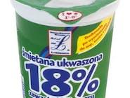 Łobżenica Śmietana ukwaszona 18% 400G/KU 1 KU Numer artykułu15834072