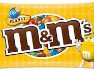 m&m's m&m´s Peanut, żółte, kolorowe drżetki nadziewane prażonymi orzeszkami ziemnymi, 45 GR/TB  Numer artykułu 14038815