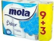 Papier toaletowy MOLA Biały `12 rolek
