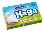 Lactima HAGA serek twarogowy smietankowy 100g Termizowany,porcjowany 6x16,67g. 1 PA/PR ser twarogowy 65%, smietanka 4%  Numer artykułu 16629035