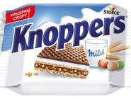 Knoppers Knoppers, wafelek mleczny z orzechami laskowymi 25 GR/ST Numer artykułu 17622615