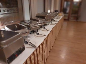 Organizujemy również imprezy w formie szwedzkiego stołu!
