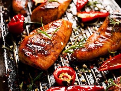 Filet drobiowy z grilla