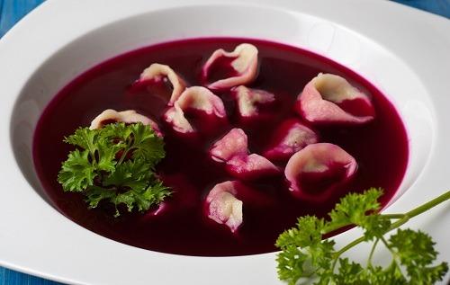 barszcz czerwony - catering wigilijny