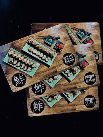 Zdobądź kartę rabatową do restauracji Hoshi Sushi