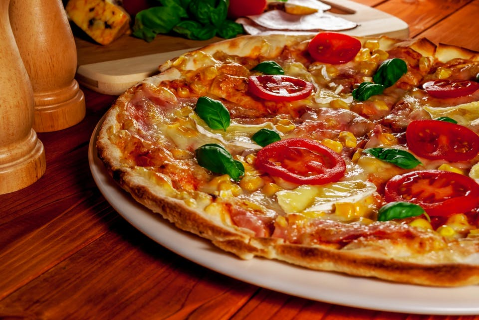 15 zł druga pizza 30 cm