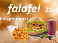 Falafel Burger Lunch