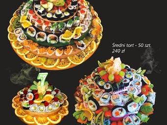 Torty z sushi!