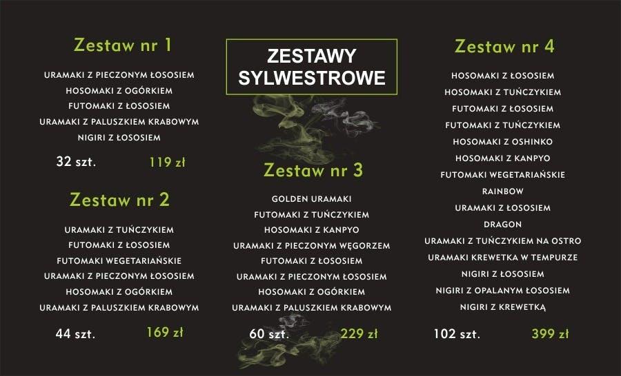 ZESTAWY SYLWESTROWE