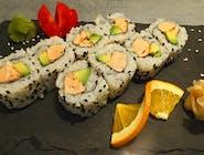 Pieczone sushi - rolki i nigiri