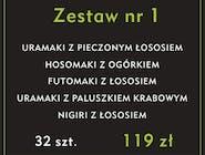 Zestaw nr 1  -  32 szt.