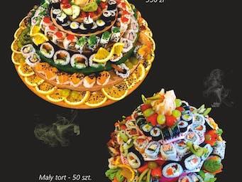 Torty z sushi.