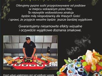 Pokaz robienia sushi.