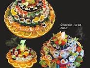 Duży tort sushi - 100 szt.